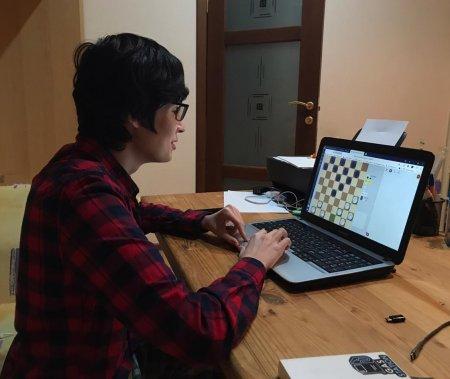 Обучающиеся 1-3 курсов нашего филиала – участники Лиги по шашкам в онлайн формате